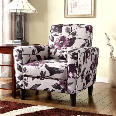 Container Floral Armchair