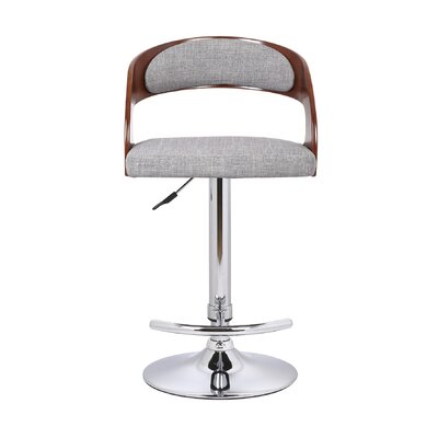 Container Adjustable Height Swivel Bar Stool Image