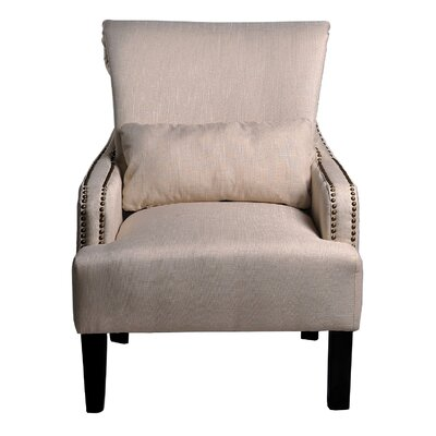Container Upholstered Arm Chair