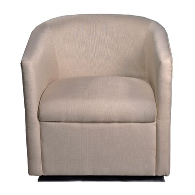 Container Swivel Arm Chair