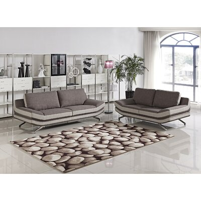 Container Juian 2 Piece Sofa and Loveseat Set