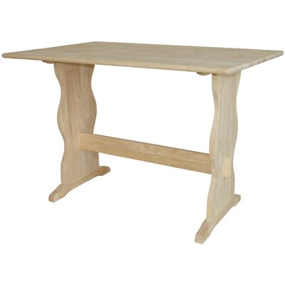 International Concepts Dining Table with Trestle Leg