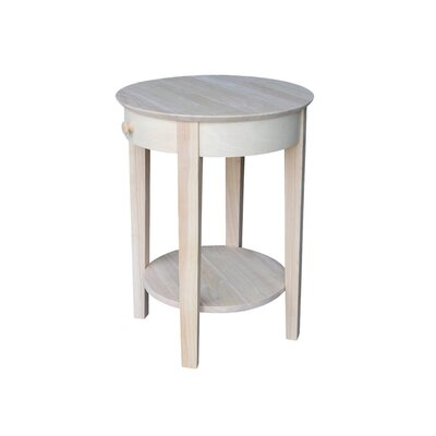 Hall Console international concepts round hall console table & reviews | wayfair