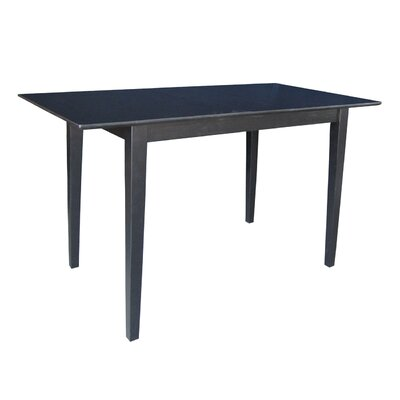 International Concepts Shaker Extendable Pub Table
