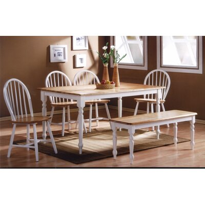 August Grove Bella Tile Top 5 Piece Dining Set