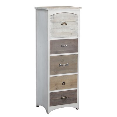 Andover Mills Brighton Tall 5 Drawer Lingerie  C..