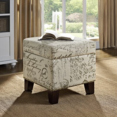August Grove Adda Storage Ottoman