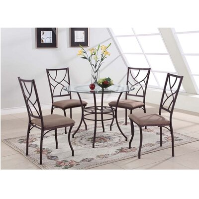 August Grove Adella 5 Piece Dining Set