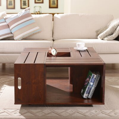 August Grove Woodland Coffee Table