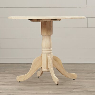 August Grove Imogene Dining Table with Dual Drop..