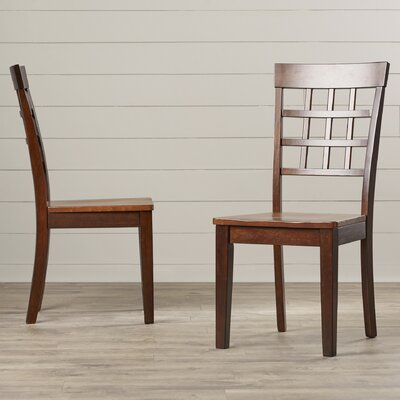 Red Barrel Studio Dixon Gridback Side Chair (Set of 2)