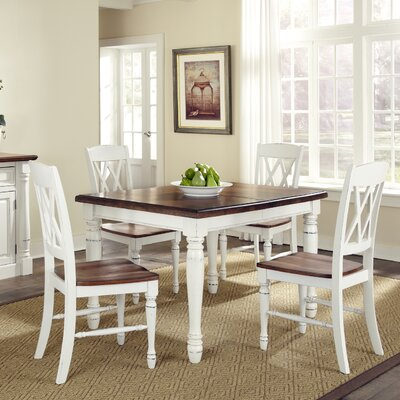 August Grove 3 Piece Dining Set