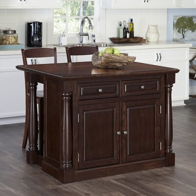 August Grove Shyanne Kitchen Island Set