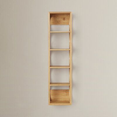 August Grove Beula 5 Bottle Wall Mounted Wine Rack