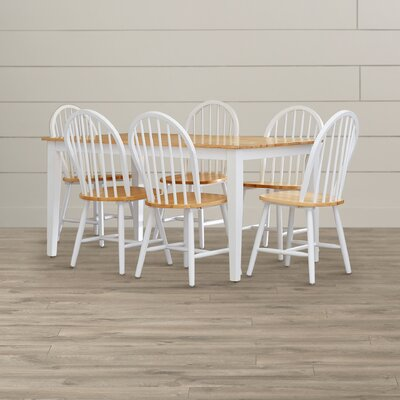 August Grove Galesburg 7 Piece Dining Set