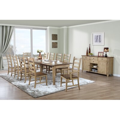 Sunset Trading Brook 12 Piece Dining Set