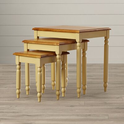August Grove Grandin 3 Piece Nesting Table Set