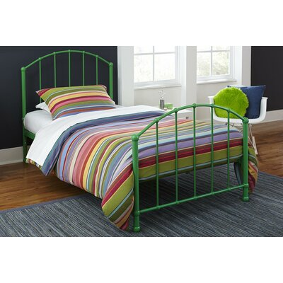 August Grove Eleanore Twin Panel Bed