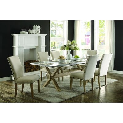 August Grove Arcade 7 Piece Dining Set