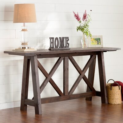 August Grove Vineyard Console Table