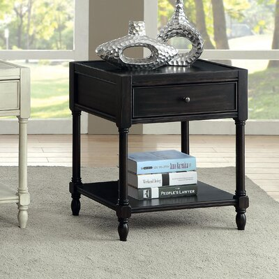 August Grove Lesperance End Table