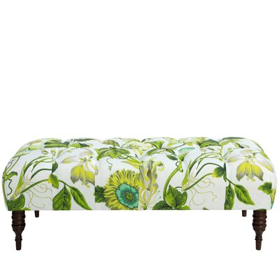 August Grove Acelina Tufted Linen Upholst..