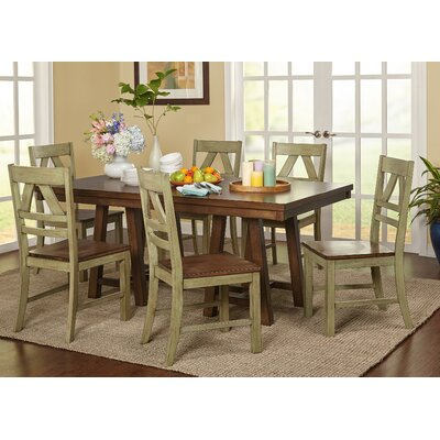 August Grove Castleford 7 Piece Dining Set