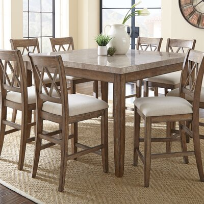 One Allium Way Franco 9 Piece Dining Set