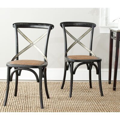 One Allium Way Argyle Side Chairs (Set of 2)