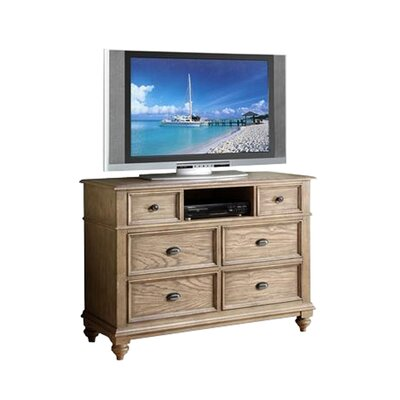 One Allium Way Coolidge 6 Drawer Media Chest