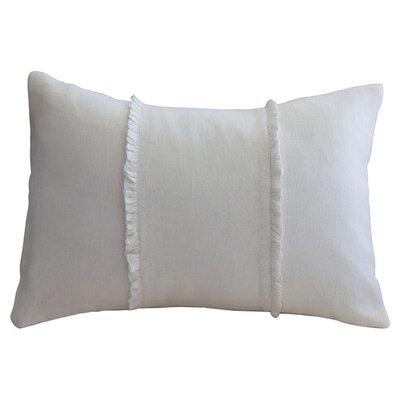 One Allium Way Irenee Linen Lumbar Pillow Amp Reviews Wayfair