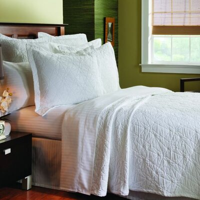 One Allium Way Vaughan Stone Washed Coverlet Collection