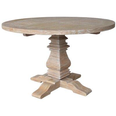 One Allium Way Vichy Pedestal Dining Table