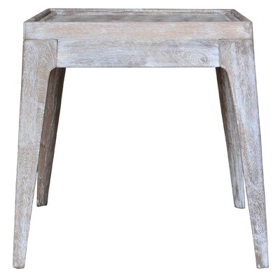 One Allium Way Lavender End Table