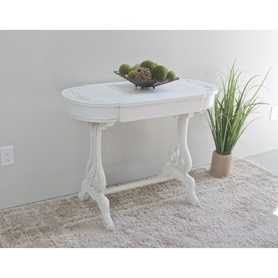 One Allium Way Fordville Writing Desk with Drawer