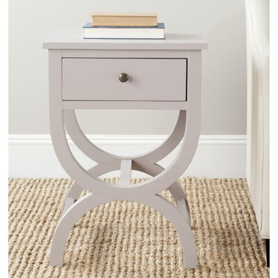 One Allium Way Laverriere 1 Drawer End Table
