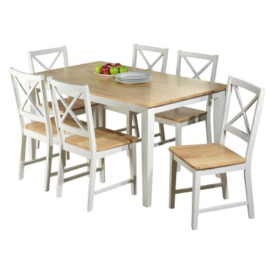 Beachcrest Home Lafayette 7 Piece Dining Set