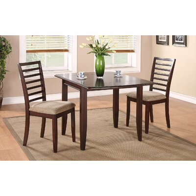 Beachcrest Home Thatcher 3 Piece Dining Set