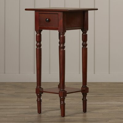 Beachcrest Home Amityville 1 Drawer End Table
