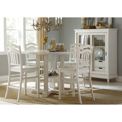 Beachcrest Home Silver Springs Counter Height Dining Table