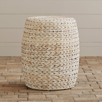 Beachcrest Home Pineland Banana Leaf Ottoman