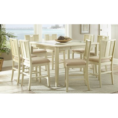Beachcrest Home Melody 9 Piece Counter Height Dining Set