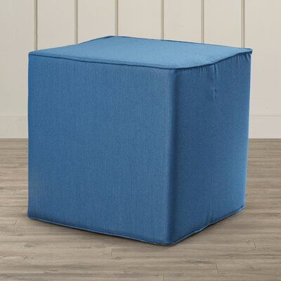 Beachcrest Home Surfside Square Pouf Ottoman