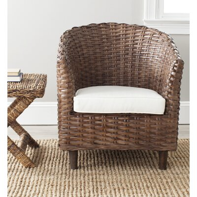 Beachcrest Home Biscayne Fabric Arm Chair