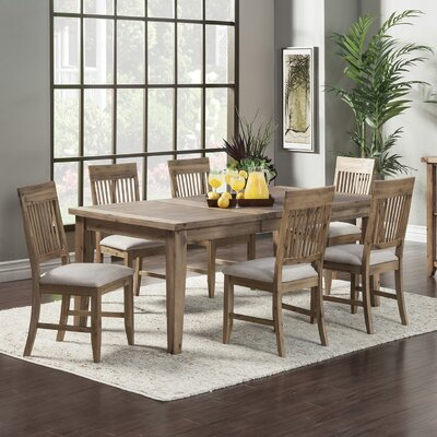 Beachcrest Home Hill 'n Dale 7 Piece Dining Set