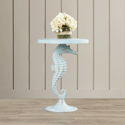 Beachcrest Home Sea Horse Table