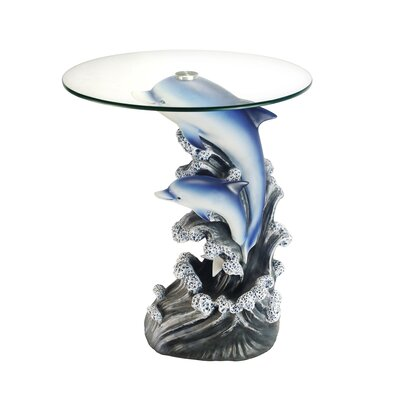 Beachcrest Home Grayrock End Table Image