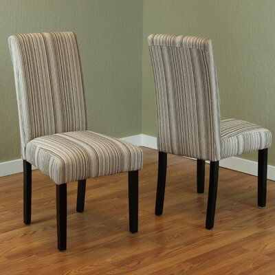 Beachcrest Home Vaughn Parsons Chair (Set of 2)