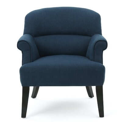 Beachcrest Home Rhodes Fabric Club Chair