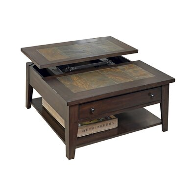 Loon Peak Leadville North Coffee Table with Lift Top